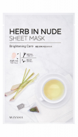 Маска для лица MISSHA Herb In Nude Sheet Mask (Brightening Care)