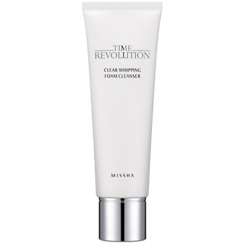 Очищающая пенка для лица MISSHA Time Revolution Clear Whipping Foam Cleanser