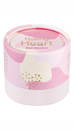 Румяна в шариках MISSHA Rolling Heart Ball Blusher (No.1/Pink Meringue)