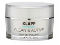 Энзимный пилинг CLEAN AND ACTIVE Enzyme Peeling Klapp 50 мл