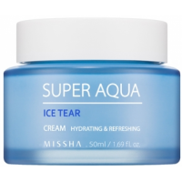 Освежающий крем для лица MISSHA Super Aqua Ice Tear Cream