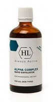 Химический пилинг ALPHA COMPLEX Rapid Exfoliator 100ml Holy Land