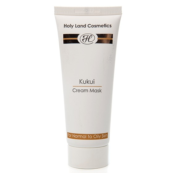 Сокращающая маска KUKUI Cream Mask for oily skin Holy Land