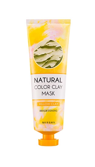 Маска для лица MISSHA Natural Color Clay Mask [Brightening]